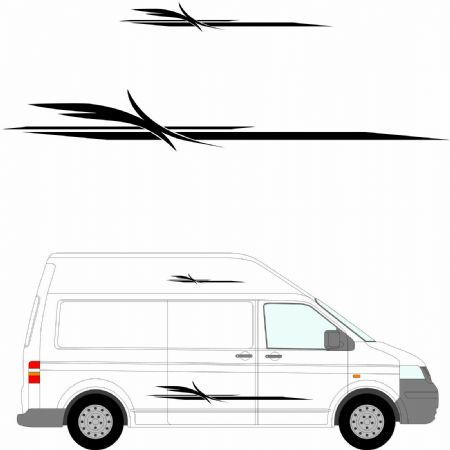 (No.278) MOTORHOME GRAPHICS STICKERS DECALS CAMPER VAN CARAVAN UNIVERSAL FITTING